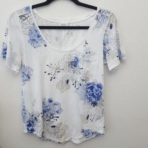 BABATON Sami White Floral shirt Small